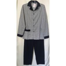 Мъжка пижама с копчета 100% памук