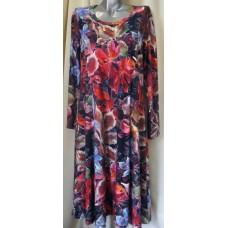 """Топла рокля """"Ангора"""" големи размери"""